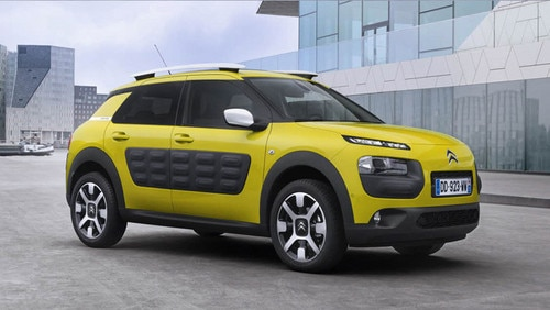 UK reveal of New C4 Cactus at Goodwood Festival of Speed 2014