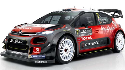 Citroën Racing officially unveiled its C3 WRC