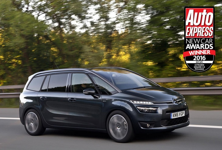 21ec516a88 Citroën Grand C4 Picasso scoops  Best MPV  honour at Auto Express Awards