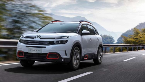 UK reveal of New C5 Aircross SUV at Shanghai Motor Show