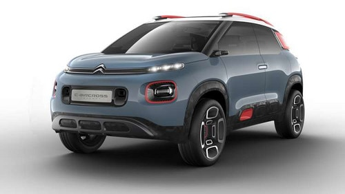 Citroën revealed C-Aircross Concept