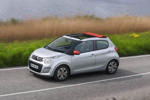 Reveal of New Citroën C1 at the Geneva Motor Show