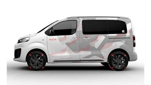 Citroën unveiled SpaceTourer 4X4 Ë at the Geneva Motor Show