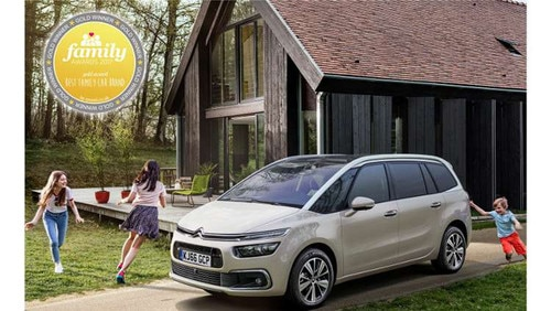 Citroën voted 'Best Family Car Brand' in the Mumii Family Awards