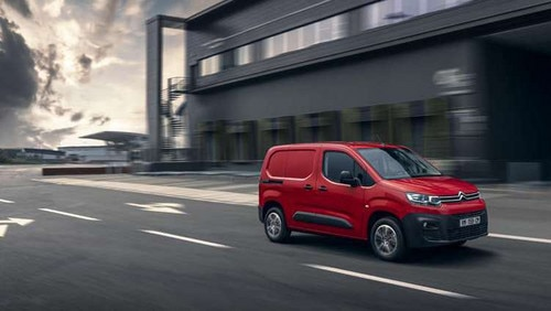 UK Reveal of New Berlingo Van