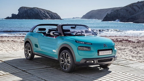 New Cactus M concept car premieres at Frankfurt International Motor Show 2015