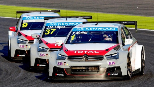 Citroën wins the FIA WTCC Manufacturers' and Drivers' Title