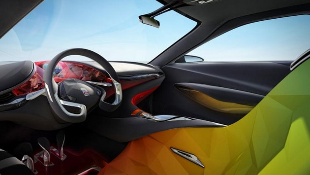 Citroën Hypnos concept car - A creative interior