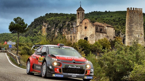 "A ""Home"" Round for the Citroën Racing Crews"