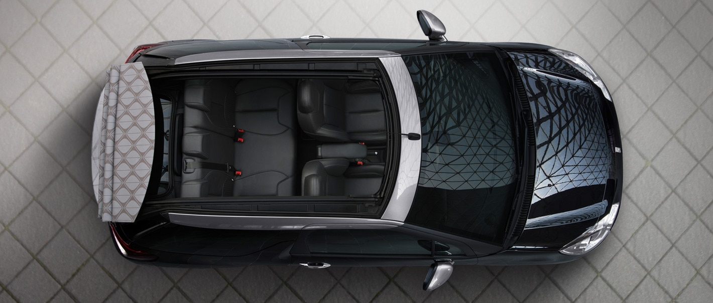 Citroën DS3 Cabrio -An opening roof