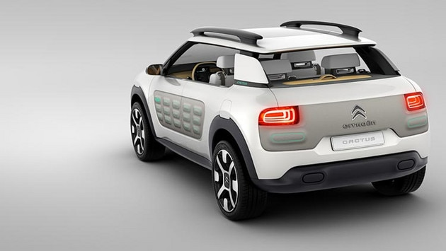 Citroën Cactus concept car - Functional styling