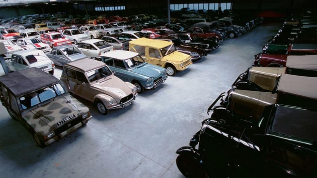 Citroën Conservatoire  - The vehicle collection