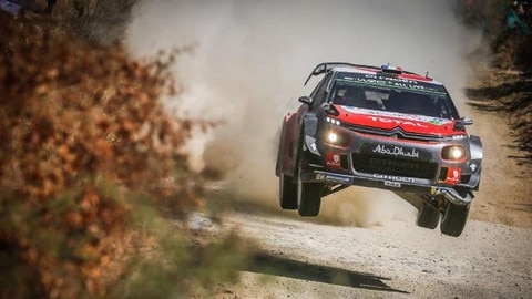 The Citroën C3 WRC Heads for the hills