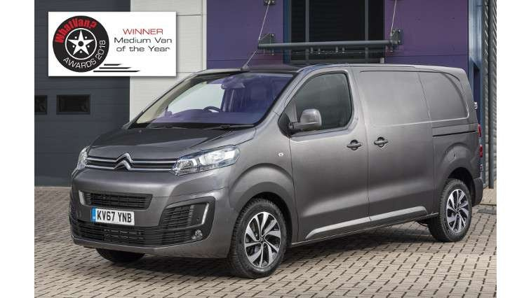 0866353fa67674 Citroën Dispatch wins best medium van at what van  Awards for the second  year running