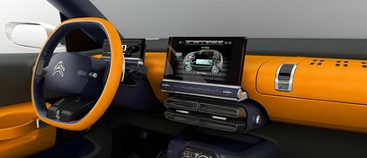 Citroën Cactus concept car - Slim dashboard