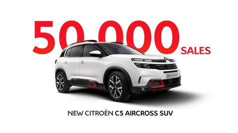 New Citroën C5 Aircross Suv Tops 50,000 Sales In First Six Months