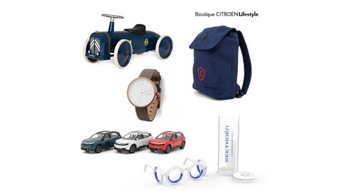 Citroën Online Lifestyle Shop Opens In Time For Christmas