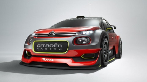 C3 WRC Concept Car: Start Your Engines