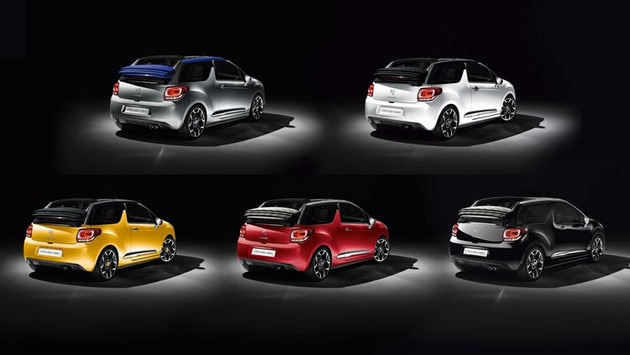 Citroën DS3 Cabrio - Personalisation: bodywork