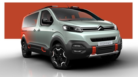 SpaceTourer HYPHEN Concept vehicle: Citroën turns up the volume!
