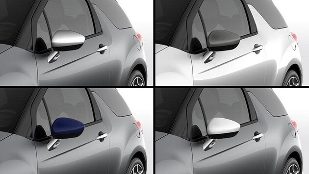 Citroën DS3 Cabrio - Personalisation: door mirror housings