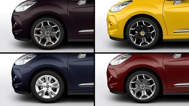 Citroën DS3 Cabrio - Personalisation: wheels