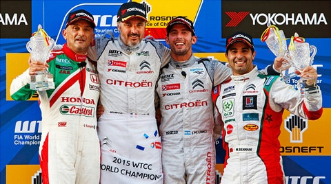 Citroën clinches second FIA World Touring Car Championship title