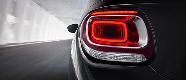 Citroën DS3 Cabrio - Rear LED lights