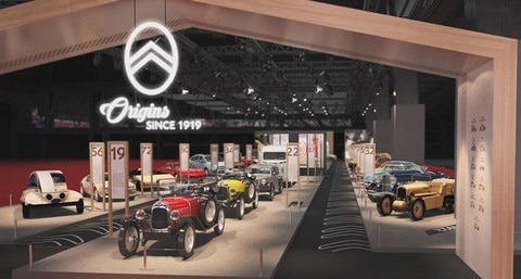 Retromobile 2019: Citroën Is Celebrating Its Centenary With A Stand Accommodating 30 Historic Models!