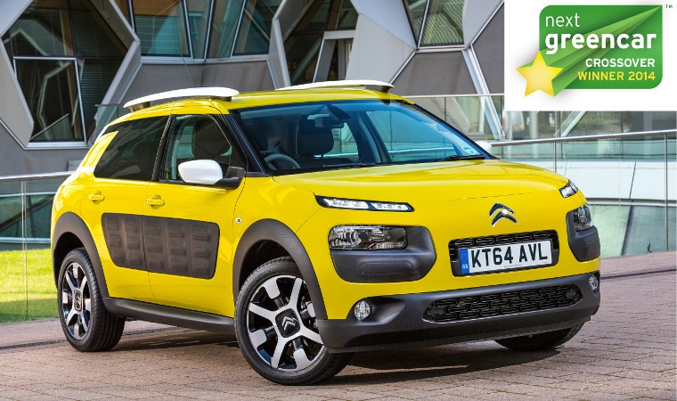 Citroen C4 Cactus Green >> New Citroen C4 Cactus Named Best Crossover In 2014 Next Green Car