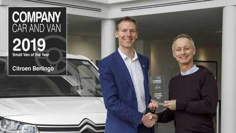 Citroën Berlingo Van Celebrates The New Year With Another Award